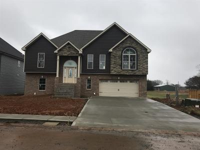 Clarksville Single Family Home Under Contract - Showing: 98 Griffey Estates