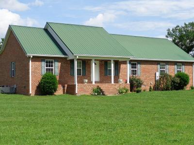 Shelbyville Single Family Home For Sale: 141 Greer Rd