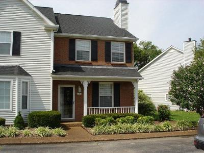Williamson County Condo/Townhouse Under Contract - Showing: 505 Clearbrook Ct #505