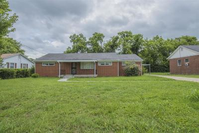Single Family Home Under Contract - Showing: 1208 N Tennessee Blvd