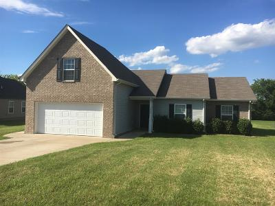 Rockvale Single Family Home For Sale: 1030 Pusher Pl