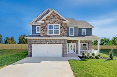 Clarksville Single Family Home Under Contract - Showing: 122 Bentley Meadows