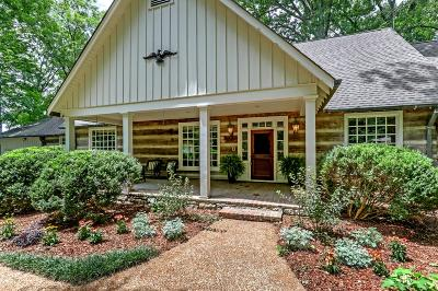 Hendersonville Single Family Home Under Contract - Showing: 218 Sequoyah Trl