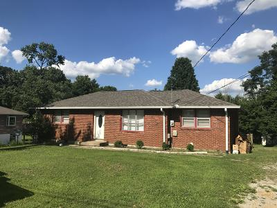 Hendersonville Single Family Home Under Contract - Showing: 132 Cranwill Dr