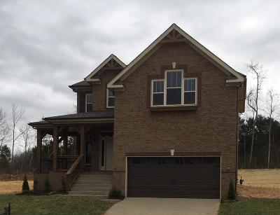 Spring Hill Single Family Home For Sale: 1009 Claymill Dr. Lot 704