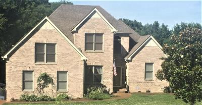 Franklin Single Family Home Under Contract - Showing: 1453 Mayberry Ln