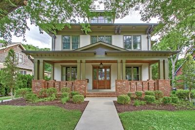 Davidson County Single Family Home Under Contract - Showing: 2007 Beechwood Ave