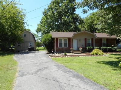 Hendersonville Single Family Home Under Contract - Showing: 106 Brookside Ct