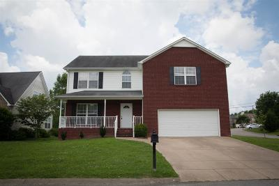 Spring Hill Single Family Home Under Contract - Showing: 1233 Baker Creek Dr