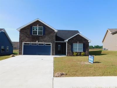 Clarksville Single Family Home Under Contract - Not Showing: 214 Autumn Creek