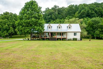 Pegram Single Family Home Under Contract - Showing: 4903 Pond Creek Rd