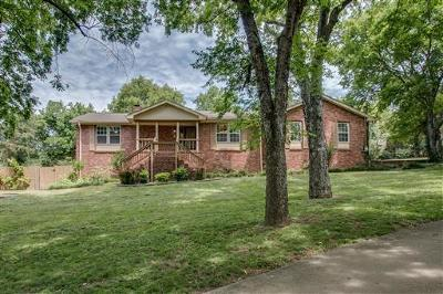 Hendersonville Single Family Home Under Contract - Showing: 136 E Ervin Dr