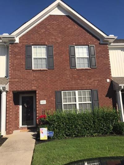 Smyrna, Lascassas Condo/Townhouse Under Contract - Showing: 3026 Burnt Pine Dr
