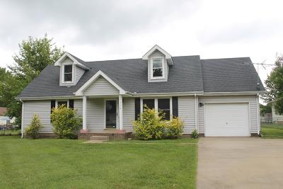 Christian County, Ky, Todd County, Ky, Montgomery County Single Family Home For Sale: 709 Shelton Cir