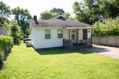 Nashville Single Family Home For Sale: 1213 Stockell St