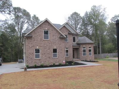 Christian County, Ky, Todd County, Ky, Montgomery County Single Family Home Under Contract - Showing: 3563 Tannahill Ct