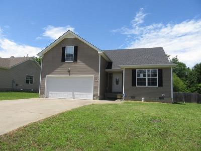 Christian County, Ky, Todd County, Ky, Montgomery County Single Family Home For Sale: 1337 Mutual Dr