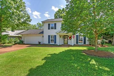 Franklin Single Family Home Under Contract - Showing: 1017 Boxwood Drive