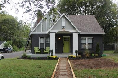 Nashville Single Family Home For Sale: 1500 Riverside Dr