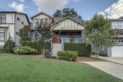 Nashville Single Family Home Under Contract - Showing: 2310 Vaulx Ln