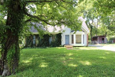 Mount Juliet Single Family Home Under Contract - Showing: 7730 Saundersville Rd