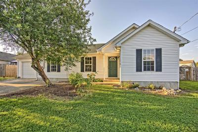 Smyrna, Lascassas Single Family Home Under Contract - Showing: 506 Wildwood Dr
