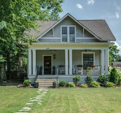 Sylvan Park Single Family Home Under Contract - Showing: 4301 Wyoming Ave