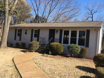 Franklin Single Family Home For Sale: 103 Blue Grass Dr