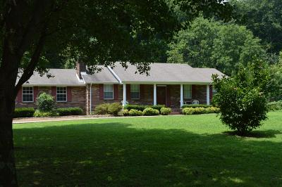 Single Family Home For Sale: 3359 Tyree Springs Rd