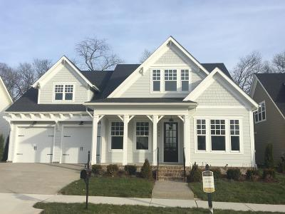 Franklin Single Family Home For Sale: 5060 Maysbrook Lane - Lot 10