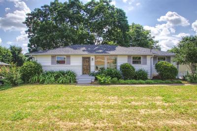 Nashville Single Family Home For Sale: 1805 Stratford Ave