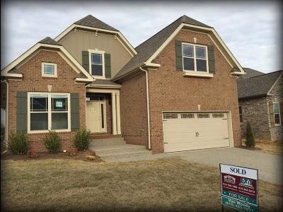 Spring Hill Single Family Home For Sale: 1018 Claymill Dr. Lot 716