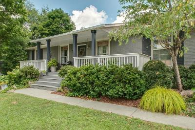 Kingston Springs Single Family Home Under Contract - Showing: 1102 Dog Creek Rd