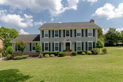 Hendersonville Single Family Home Under Contract - Showing: 176 Allen Dr