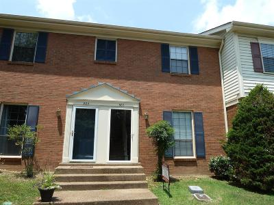 Williamson County Condo/Townhouse Under Contract - Showing: 503 Brentwood Pointe