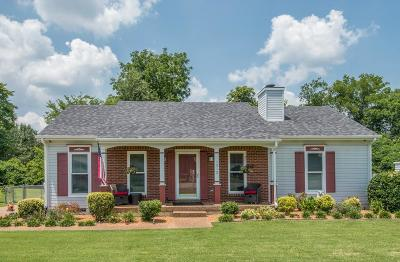 Mount Juliet Single Family Home Under Contract - Showing: 1512 Stone Hill Rd