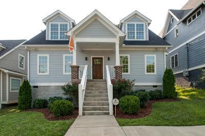 Nashville Single Family Home For Sale: 317 Chamberlin St