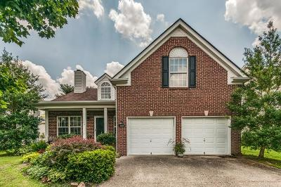 Davidson County Single Family Home For Sale: 1249 Bending Creek Dr