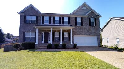 Spring Hill Single Family Home For Sale: 6022 Thrush Ct