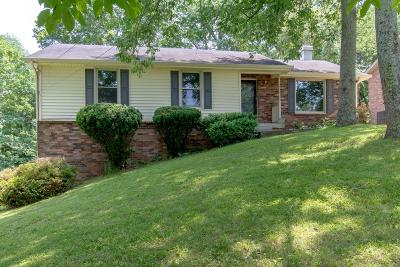Hendersonville Single Family Home Under Contract - Showing: 169 Township Dr