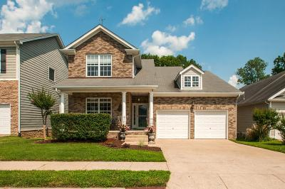 Davidson County Single Family Home Under Contract - Showing: 2132 Branch Oak Trail