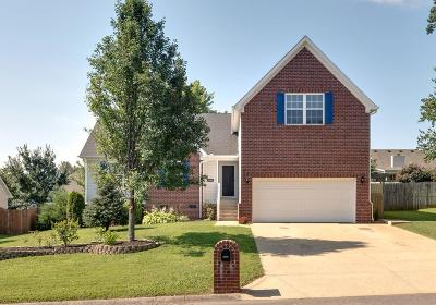 Spring Hill Single Family Home Under Contract - Showing: 1808 Packard Ct