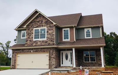 Clarksville Single Family Home Under Contract - Showing: 4 Bentley Meadows