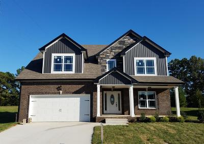 Clarksville Single Family Home For Sale: 6 Bentley Meadows