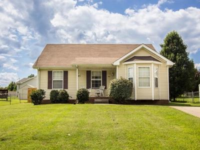 Clarksville TN Single Family Home For Sale: $96,900