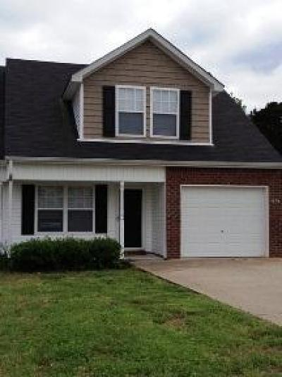 Smyrna, Lascassas Single Family Home Under Contract - Showing: 636 McKean Dr