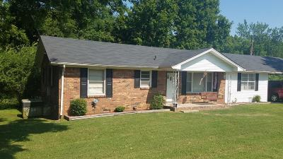 Single Family Home For Sale: 111 Albright Ln