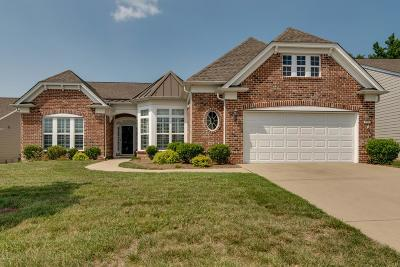 Mount Juliet TN Single Family Home For Sale: $549,900