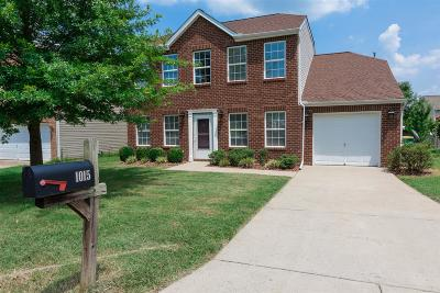 Spring Hill Single Family Home For Sale: 1015 Lowrey Place