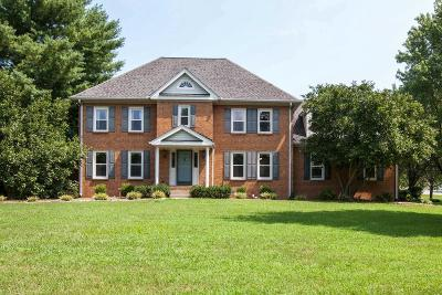 Franklin Single Family Home Under Contract - Showing: 2000 Berrys Chapel Rd